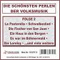 Compilation Die schönsten perlen der volksmusik, folge 2 avec Pfalzer Landmusikanten / Geiger, Jung / Robert Jung / Kaefbein, Lemberg / Chris & Christian...