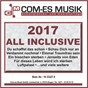 Compilation 2017 all inclusive avec Melzer, Johann / Busse / Roy Rens / Moring, Stahlkopf / Tanja Lasch...