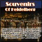 Compilation Souvenirs of heidelberg avec Reinehr / Hölderlin / Bernd Muller / Zimmermann / Scheffel...