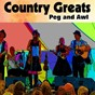 Compilation Peg and awl avec Cliff Carlisle / Sam Mcgee / G. B. Grayson / Carolina Tar Hells / Buster Carter...