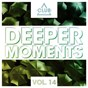 Compilation Deeper moments, vol. 14 avec Daniel Argoud, Miss Sugaware / Quinten 909 / Carl Hanaghan, Roz Brown / Wrong Burgundy / Alexander Belousov...
