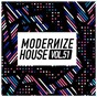 Compilation Modernize house, vol. 51 avec Johan Dresser / Kim Morgan, Lukas Newbert / Simioli, Triple1 / Frank Lamboy, Jenn Cuneta / B.Vivant...