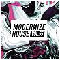 Compilation Modernize house, vol. 55 avec Silverfox / Maffa & Cap / Alain Ducroix, Michael Sax / Splashfunk / Mathias D....