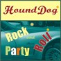"""Compilation Hound dog rock N roll party avec Gary Us Bonds / Mike Stoller / Elvis Presley """"The King"""" / O Blackwell / M Shuman..."""