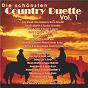 Compilation Die schönsten country duette, vol. 1 avec Janine / Stajich, Steven Mark / Joe Hodgkins & Boss Band / Boss Band / Glandt, Andreas...