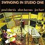 Album Swinging in studio one de Paul Clarvis / Alan Barnes / Jim Hart