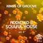 Compilation Addicted II soulful house, vol. 2 avec Franco de Mulero / Soulitudes / The Soul Creative / Roquer Sax / Jackie Queens...
