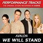 Album We will stand (performance tracks) - ep de Avalon