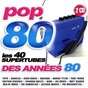Compilation Pop 80 (les 34 supertubes des années 80) avec Nina Hagen / Totò (Antonio de Curtis) / The Bangles / Bonnie Tyler / Captain Sensible...