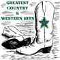 Compilation Greatest country & western hits, vol. 3 avec Clayton / Allison / Jim Reeves / Driftwood / Johnny Horton...